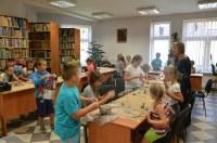 Zajęcia wakacyjne w bibliotece