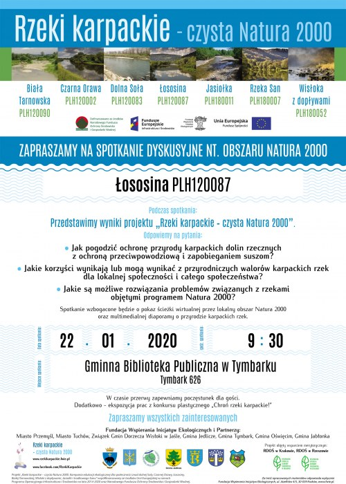 Rzeki karpackie – czysta Natura 2000